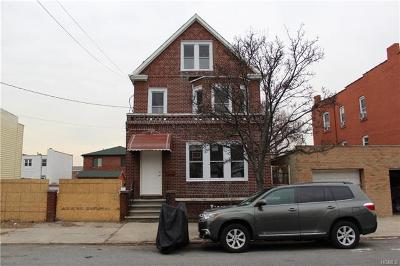 Bronx Multi Family 2-4 For Sale: 1337 Ellison Avenue