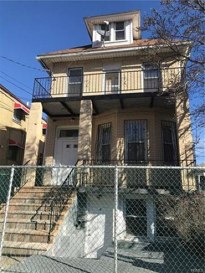 Bronx Multi Family 2-4 For Sale: 915 East 229th Street
