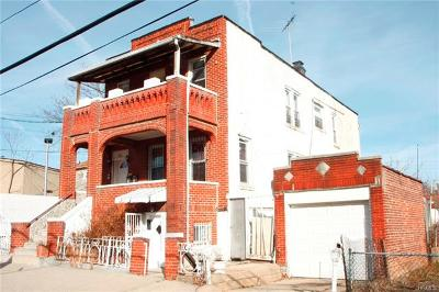 Bronx Multi Family 2-4 For Sale: 3056 Wilson Avenue
