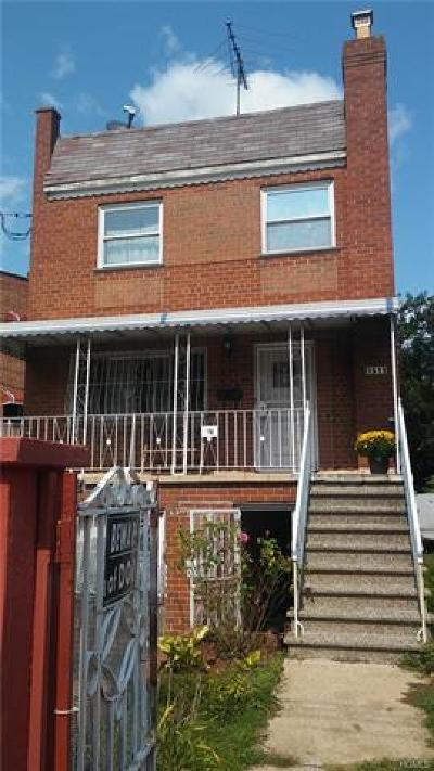 Bronx Multi Family 2-4 For Sale: 1511 East Gun Hill Road