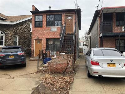 Bronx Multi Family 2-4 For Sale: 1758 Arnow Avenue