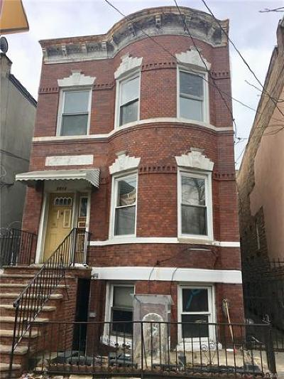 Bronx Multi Family 2-4 For Sale: 2513 Maclay Avenue
