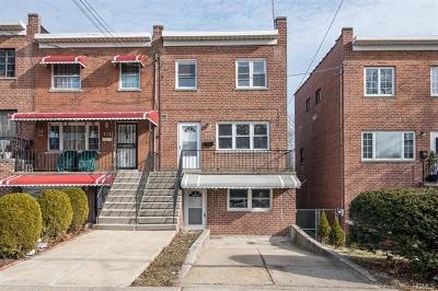 Bronx Single Family Home For Sale: 2452 Wilson Avenue