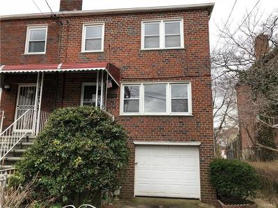 Bronx Single Family Home For Sale: 3238 Randolph Place