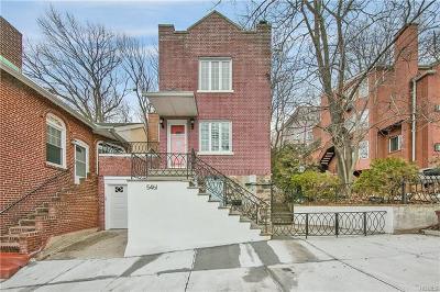Bronx NY Single Family Home For Sale: $828,000