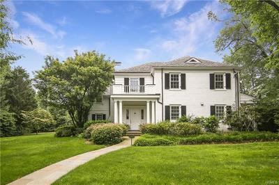 Scarsdale NY Single Family Home For Sale: $3,250,000