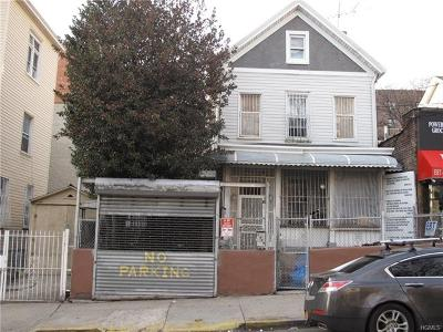 Bronx Multi Family 2-4 For Sale: 2639 Decatur Avenue