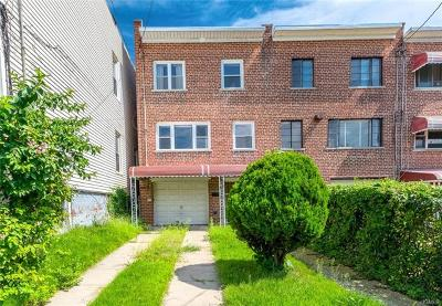 Bronx Single Family Home For Sale: 3858 Barnes Avenue #A