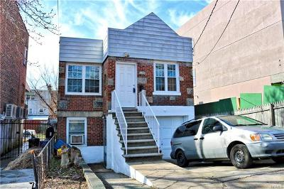Bronx Multi Family 2-4 For Sale: 3215 Pearsall Avenue