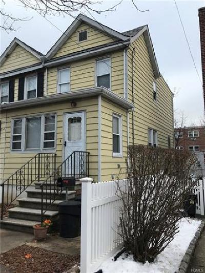 Bronx Single Family Home For Sale: 845 Vincent Avenue