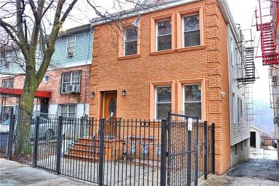 Bronx NY Multi Family 2-4 For Sale: $925,000