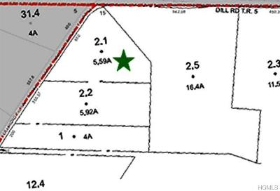 Forestburgh NY Residential Lots & Land For Sale: $25,000