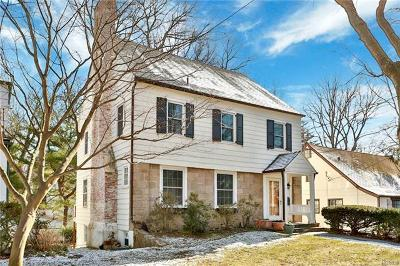 Westchester County Single Family Home For Sale: 15 Woodlawn Avenue