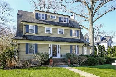 Scarsdale NY Single Family Home For Sale: $1,485,000