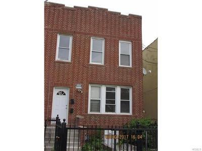 Bronx Multi Family 2-4 For Sale: 516 Calhoun Avenue