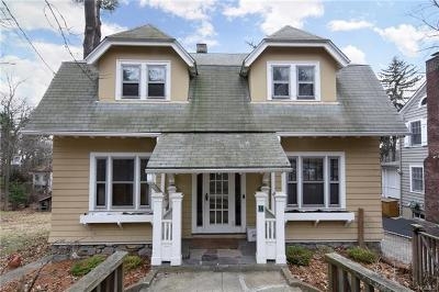 Hastings-On-Hudson Single Family Home For Sale: 14 Circle Drive