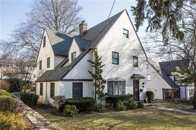 Yonkers Single Family Home For Sale: 80 Aka 78 Iroquois Road