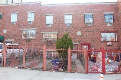 Bronx Multi Family 2-4 For Sale: 1821 Mohegan Avenue