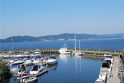 Croton-on-hudson Condo/Townhouse For Sale: F-10 Half Moon Bay-Marina- Hudson River