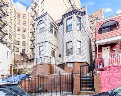 Bronx Single Family Home For Sale: 1219 Shakespeare Avenue