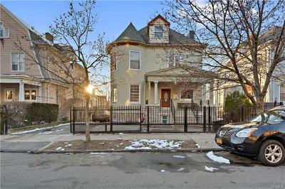 Yonkers Multi Family 2-4 For Sale: 15 Lamartine Terrace