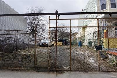 Bronx Residential Lots & Land For Sale: 2081 Bathgate Avenue