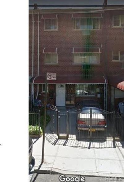 Bronx Multi Family 2-4 For Sale: 3676 Willett Avenue
