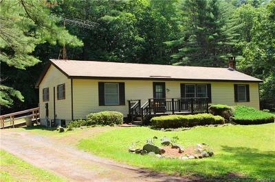 Cuddebackville Single Family Home For Sale: 840 Oakland Valley Road