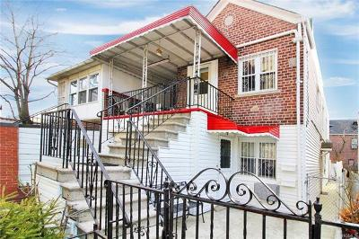 Bronx Multi Family 2-4 For Sale: 272 West 238th Street