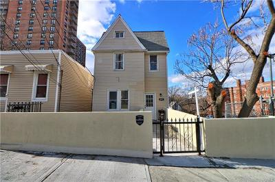 Bronx Multi Family 2-4 For Sale: 3051 Barker Avenue