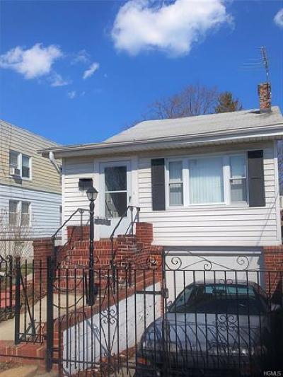 Bronx Single Family Home For Sale: 712 Edison Avenue