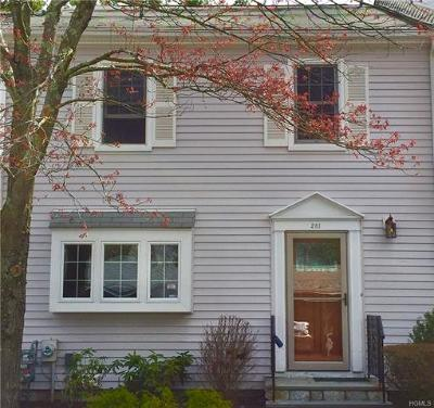 Westchester County Condo/Townhouse For Sale: 281 Carroll Close
