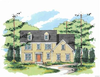Dutchess County Single Family Home For Sale: Tbd Dawson (Lot 141) Court