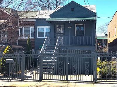Bronx Multi Family 2-4 For Sale: 4333 Wilder Avenue