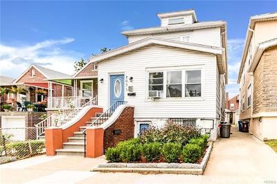 Bronx NY Multi Family 2-4 For Sale: $799,000