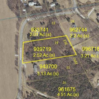 Dover Plains Residential Lots & Land For Sale: Lot 14, Halls Corners Road