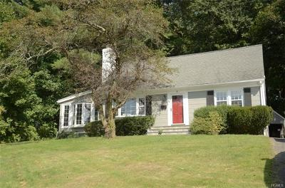 Westchester County Single Family Home For Sale: 4 Navajo