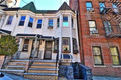 Bronx Single Family Home For Sale: 1224 Shakespeare