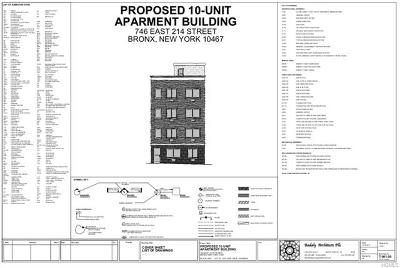 Bronx Residential Lots & Land For Sale: 746 East 214th Street