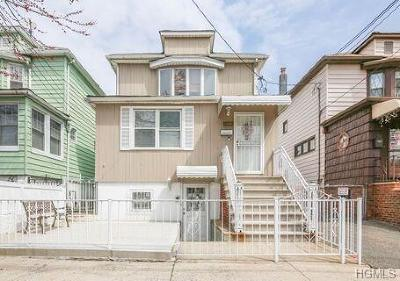 Bronx Single Family Home For Sale: 1650 Yates Avenue
