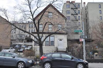 Bronx Single Family Home For Sale: 2591 Bainbridge Avenue