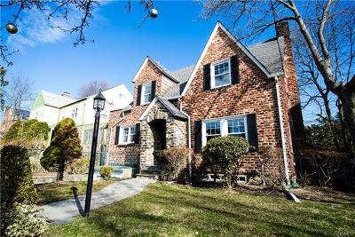 Mount Vernon Single Family Home For Sale: 17 Lenox Avenue