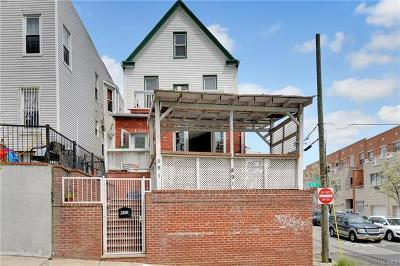 Bronx Single Family Home For Sale: 891 East 175th Street