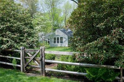 Katonah Single Family Home For Sale: 109 Upper Hook Road