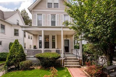 Bronxville Single Family Home For Sale: 87 Parkway Road
