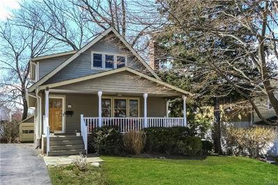 Scarsdale Single Family Home For Sale: 80 Alkamont Avenue