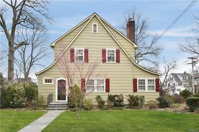 Scarsdale Single Family Home For Sale: 160 Lyons Road