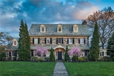 Bronxville Single Family Home For Sale: 120 Overhill Road