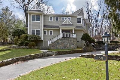 Dobbs Ferry Single Family Home For Sale: 158 Judson Avenue