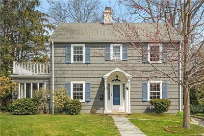 Scarsdale NY Single Family Home For Sale: $920,000